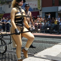 SF Pride Parade 2009 - The Leather Contingent - Photography by Madoc Pope