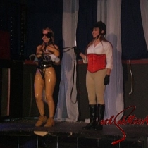 PonyMistress Rebecca and Beauty on Saturday Night at the Show competition.