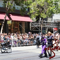 The San Francisco Pride Parade  27 June 2010