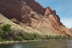 Smooth Water Rafting Inner Gorge of Marble Canyon May 2013