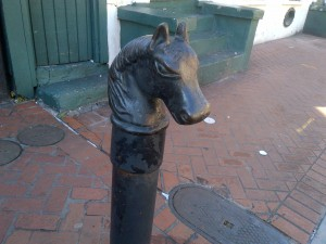New Orleans French Quarter Hitching Post