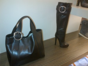 Gucci Boots and Purse